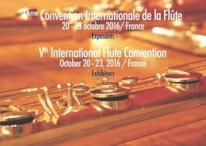 20-23 octobre 2016 - Ve Convention Internationale de la Flûte