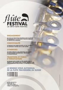 6-9 octobre 2016 - La Côte Flûte Festival 2016