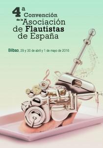 29/30 avri - 1er mai 2016 - 4a Convenciòn de la Asociaciòn de Flautistas de España